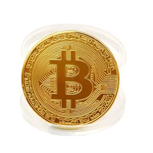Moneta kolekcjonerska BitCoin – BTC