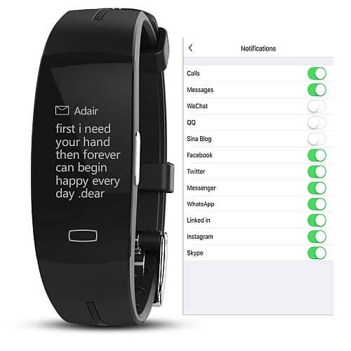 Smartband KAIHAI H66 – Pomiar ciśnienia krwi