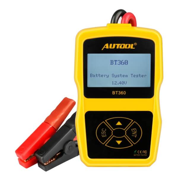 Tester akumulatorów samochodowych Autool BT360
