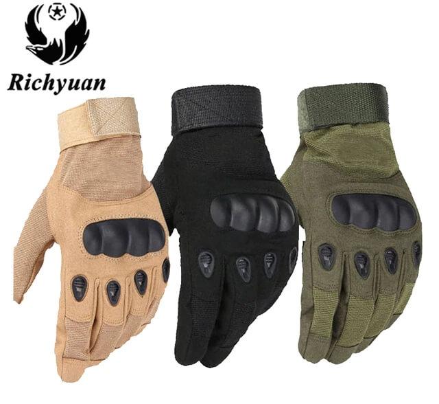 Rękawiczki męskie militarno sportowe