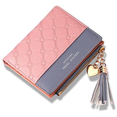 Mały modny damski portfel