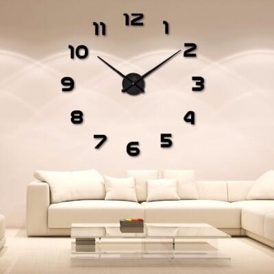 Duży zegar na ścianę 94 lub 120 cm DIY