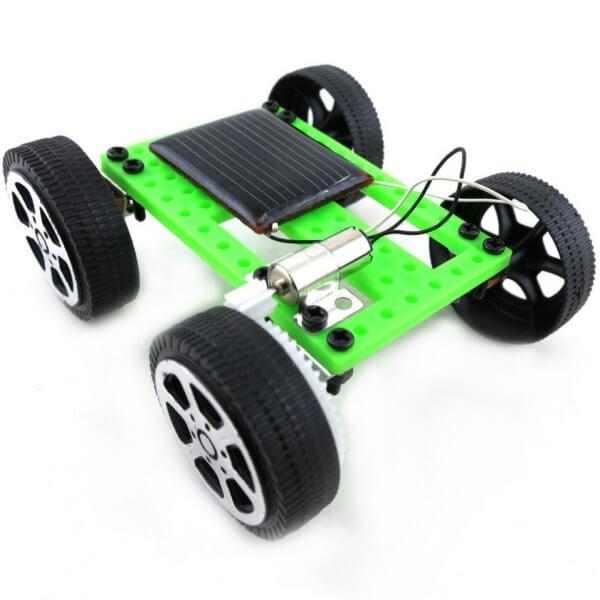 Samochód solarny dla dzieci DIY