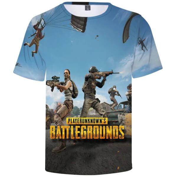 Playerunknown's-Battlegrounds-PUBG-krotka-koszulka