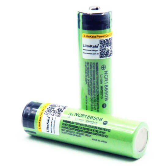 Mocne akumulatory 18650 Liitokala do latarki