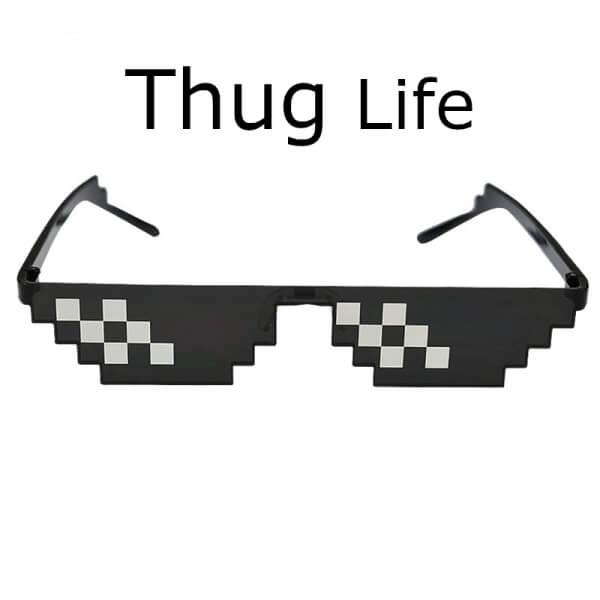 Okulary przeciwsłoneczne Thug Life