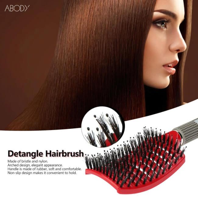 Bardzo dobra szczotka do długich włosów