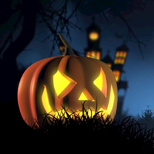 Upiorne przedmioty na Halloween