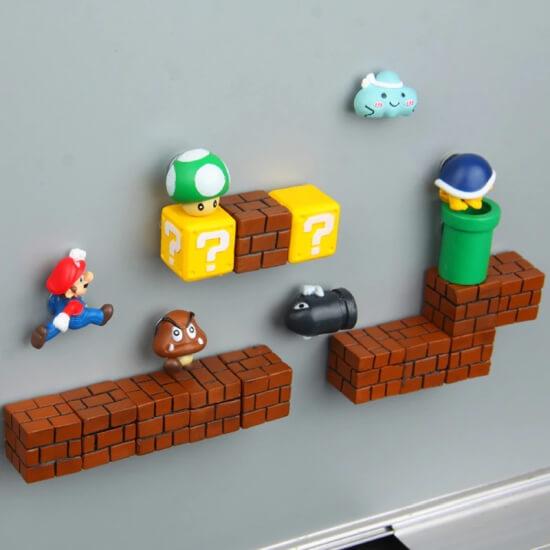 Magnesy na lodówkę Super Mario
