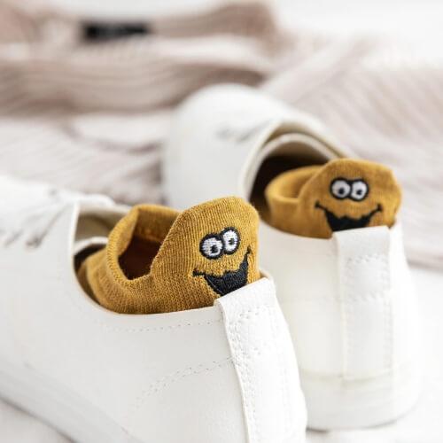 Skarpetki dla kobiet uśmiechnięte minki