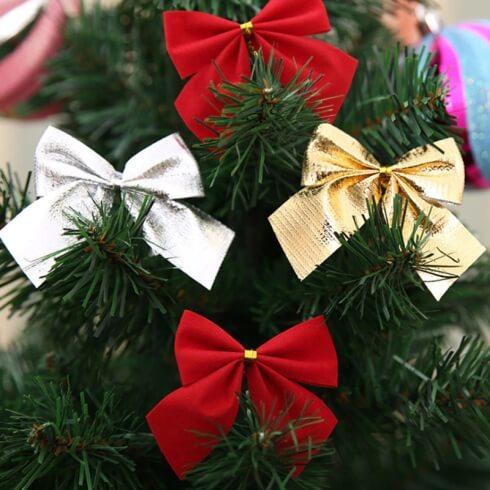 Kokardki Świąteczne-zestaw