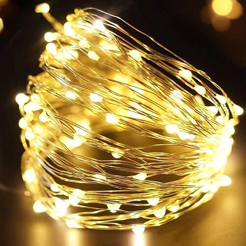 Lampka druciki na baterie AA