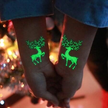 Tatuaże Świąteczne – zestaw