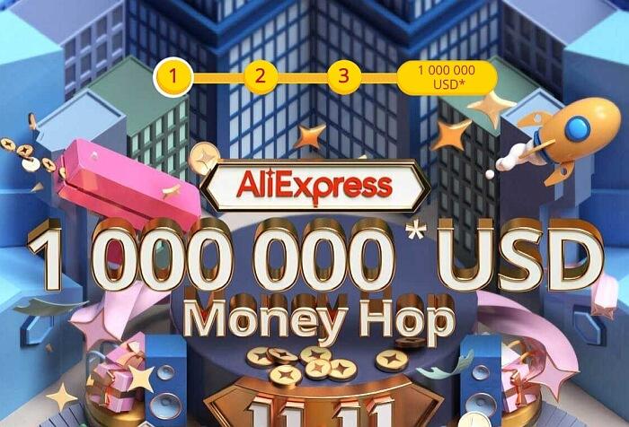 Kupony i monety z Aliexpress