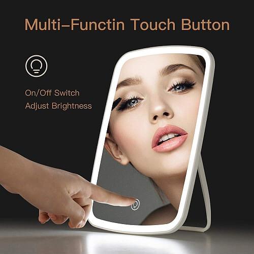 Podświetlane lusterko do makijażu od Xiaomi