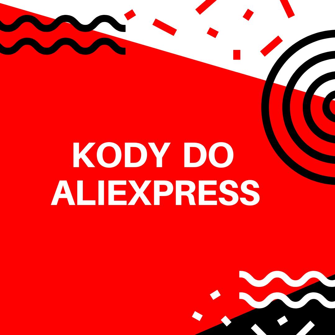 Kody i kupony na zakupy w AliExpress