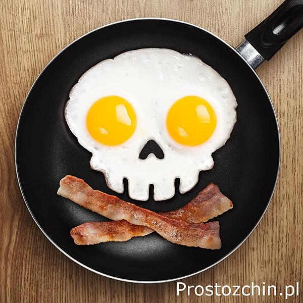 Śmieszne foremki do jajek sadzonych