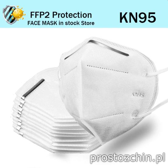 Maseczki KN95 FFP2 – tanio