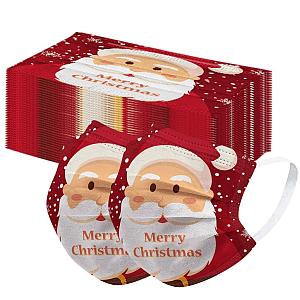 Maseczki Świąteczne 10 sztuk