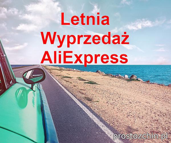 Letnia Wyprzedaż AliExpress czyli AliExpress Summer Sale 2021. Kody rabatowe do AliExpress