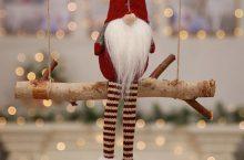 Ozdobny Mikołaj na Święta