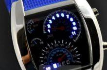 Męski zegarek elektroniczny LED