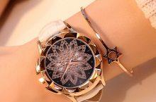 Damski zegarek z tarczą gwiazdy